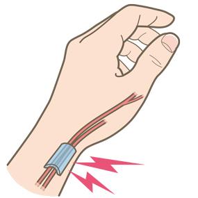 津市のすずき接骨院の腱鞘炎の説明